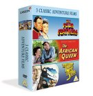 3 Classic Adventures - The Four Feathers / The African Queen / The Thirty Nine Steps
