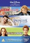 Teen Girl Triple: Freaky Friday / The Princess Diaries / Lizzie McGuire