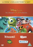 The Ultimate Pixar Collection: The Incredibles, Finding Nemo, Monsters Inc., A Bug's Life  (Disney Pixar)
