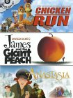 Chicken Run / James And The Giant Peach / Anastasia [2000]