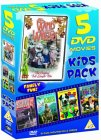 5 DVD Movies Kids Pack 2 [1983]