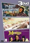 Flight of The Navigator / Gulliver's Travels / Merlin [1986]