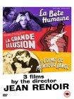 Jean Renoir - La Bete Humaine, La Grande Illusion, Le Crime De Monsieur Lange [1938]