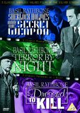 3 Classic Sherlock Holmes Films Of The Silver Screen - Sherlock Holmes And The Secret Weapon / Terror By Night