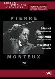 Brahms/Hindemith/Stravinsky - Boston So Archives