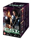 CSI: Crime Scene Investigation Seasons 1-4 Boxset DVD