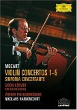 Mozart - Violin Concertos 1-5, Sinfonia Concertante (Kremer)