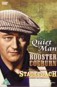 The Quiet Man/Rooster Cogburn/Stagecoach