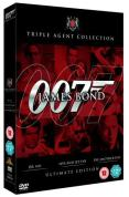 James Bond Ultimate Red Triple Pack - Dr. No/Live And Let Die/Tomorrow Never Dies