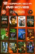 12 Horror / Sci-Fi DVD Movies