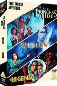 Fantasy Triple (Princess Bride, Willow, Legend)