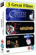 Conan The Barbarian/Legend/Ladyhawke [1982]
