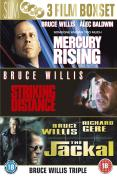 Bruce Willis Collection - Mercury Rising/The Jackall/Striking Distance