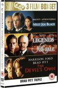 Brad Pitt Collection - Meet Joe Black/Legends Of The Fall/The Devil's Own