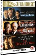 Brad Pitt Collection - Meet Joe Black/Legends Of The Fall/The Devil's Own