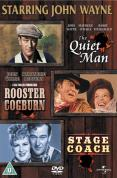 Quiet Man/Rooster Cogburn/Stagecoach
