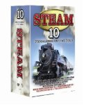 10 Pack: Steam (including The Glory Days Of Express Steam Train, Severn Steam, Locomotive Classes vol 1, Locomotive Classes vol 2, Special Sample Programme ... 1, Special Sample Programme Vol 2, & 4 m