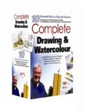 10 Pack: Complete drawing and watercolours (including Complete Drawing Course For Beginners Vol1, 2, Complete Drawing Course for Beginners Vol 3, 4, Complete Watercolours Seascapes 1 & five more) [200