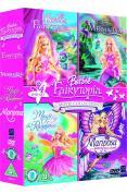Barbie Fairytopia Movie Collection - Fairytopia/Mermaidia/Magic Of The Rainbow/Mariposa And Her Butterfly Fairy Friends