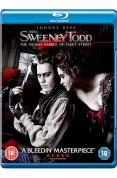 Sweeney Todd - The Demon Barber of Fleet Street [Blu-ray] [2007]