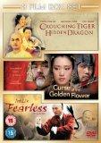 Curse Of The Golden Flower/Fearless/Crouching Tiger Hidden Dragon