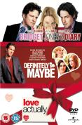 Love Actually/Definitely, Maybe/Bridget Jones's Diary DVD