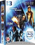 Ghost Rider/Resident Evil 3: Extinction/Hellboy (Triple Pack) [Blu-ray]