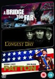 The Longest Day/ A Bridge Too Far/ Patton [DVD]