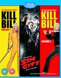 Sin City/Kill Bill Vol.1/Kill Bill Vol.2 [Blu-ray] [2003]