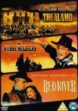 John Wayne - Triple - The Alamo / Red River / Horse Soldiers [DVD]