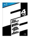 Fast & Furious 1-4 Box Set [Blu-ray]
