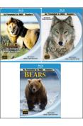 Imax Wildlife Boxset: Africa, Wolves & Bears [Blu-ray]