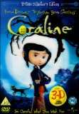 Coraline - 2 Disc Limited Edition (Includes 3D Version and 4 Pairs of 3D Glasses)   [2009] DVD