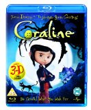 Coraline (Includes the 2D and 3D Version and 4 Pairs of 3D Glasses) [Blu-ray] [2009] Blu Ray