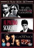 American Gangster / Scarface / Casino [DVD]
