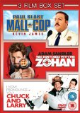Paul Blart - Mall Cop / You Don't Mess With The Zohan / I Now Pronounce You Chuck And Larry [DVD] [2008]