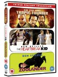 Tropic Thunder/Zoolander/The Heartbreak Kid [DVD]