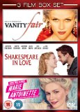 Shakespeare In Love/Marie Antoinette/Vanity Fair [DVD] [1998]