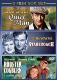 The Quiet Man/Rooster Cogburn/Stagecoach [DVD] [1938]