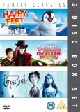 Happy Feet/Charlie And The Chocolate Factory/Corpse Bride [DVD]