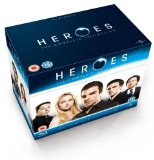Heroes Seasons 1-4 [Blu-ray]