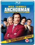 Anchorman: The Legend of Ron Burgundy (Extended Cut) [Blu-ray] [2004]