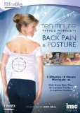 Back Pain & Posture Ten Minute Method Workouts - Melt Away Back Pain, Strenghten the Back and Improve Posture - Fit for Life - Joey Bull [DVD]
