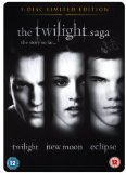 The Twilight Saga Triple Steelbook (3-Disc Limited Edition) [DVD]