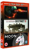 Knowing/District 9/Moon [DVD]