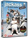 Jackass 1-3 Movie Box Set [DVD]