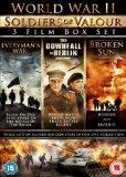 World War II - Soldiers of Valour (3 Disc Boxset) - Everyman's War, The Downfall of Berlin & Broken Sun [DVD]