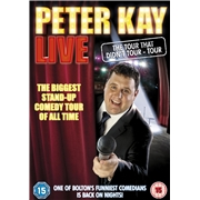 Peter Kay Live - The Tour That Doesn't Tour [DVD]
