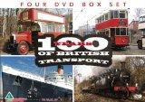 100 Years Of British Transport 4 DVD Gift Set