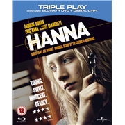 Hanna - Triple Play (Blu-ray + DVD + Digital Copy) Blu Ray